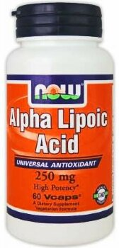 Alpha Lipoic Acid 250mg, 60 капс.