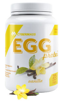 Egg protein, 750г