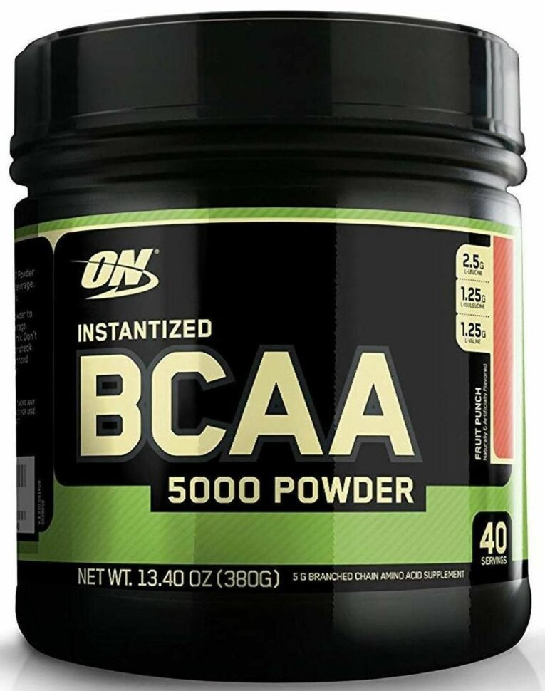 BCAA 5000 Powder, 380г