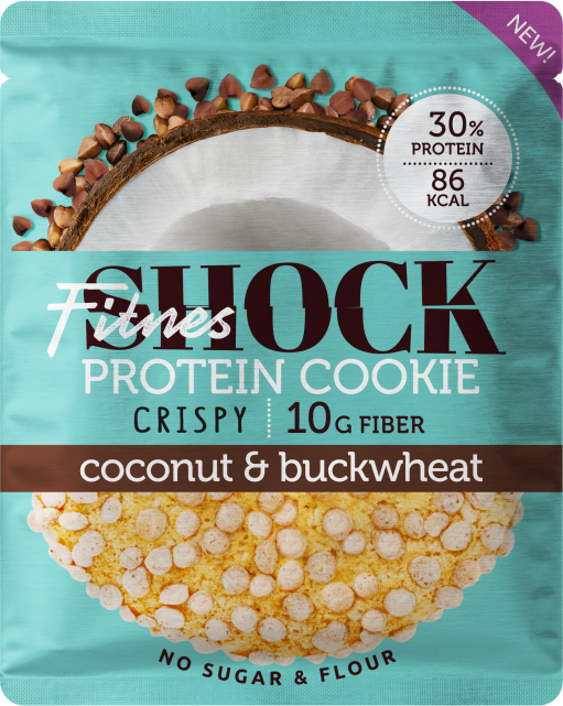 Protein Cookie CRISPY, 30г