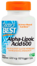 Best Alpha-Lipoic Acid 600мг, 60 капсул