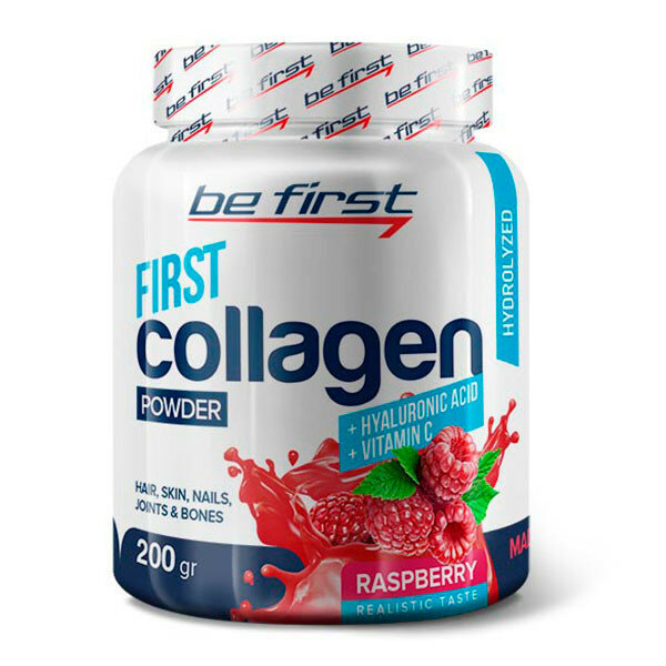 Collagen + hyaluronic acid + vitamin C, 200г