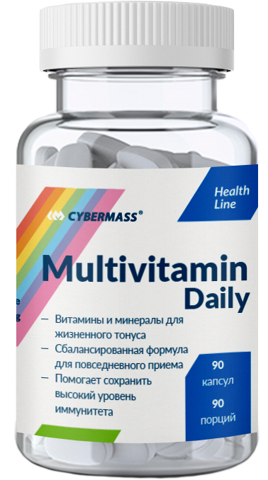 Multivitamin Daily, 90 кап.