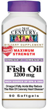 Fish Oil, 1200 mg, 90 капсул