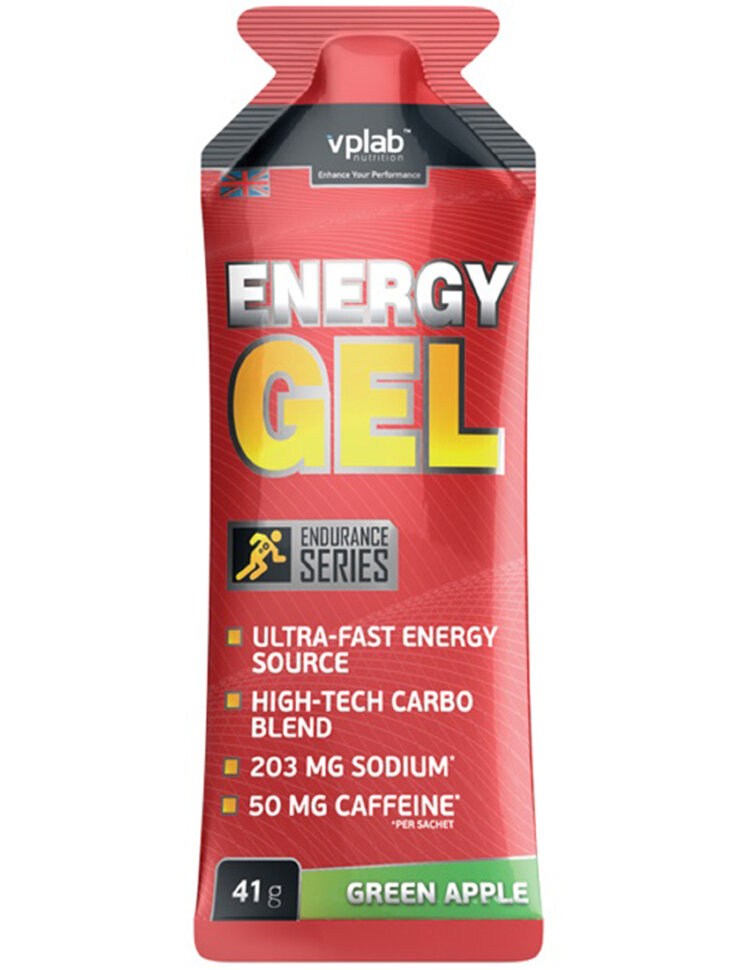 Energy Gel +caffeine, 41г