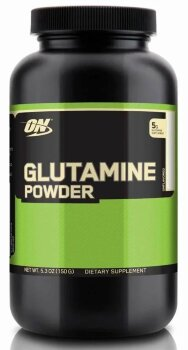Optimum Glutamine Powder, 150г