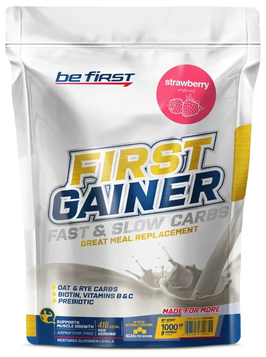 First Gainer Fast & Slow Carbs, 1000г