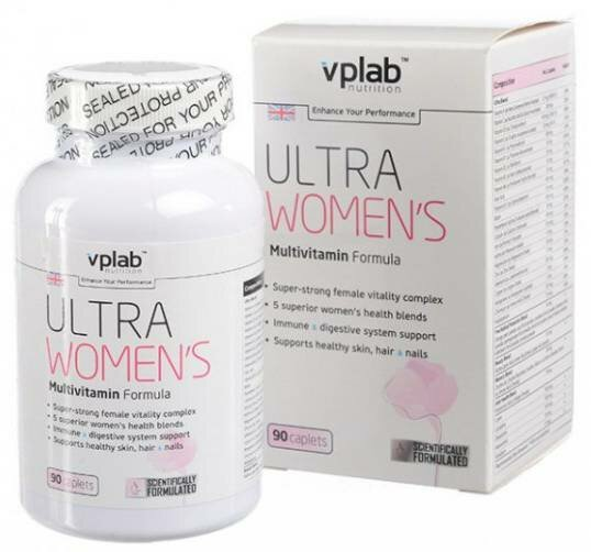 Ultra Women`s Multivitamin Formula, 90 таб.