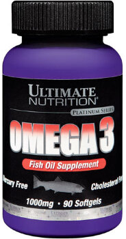 Ultimate Omega-3 1000 мг, 90 гель-капсул