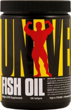 Universal Fish Oil Softgels, 100 гель-капсул