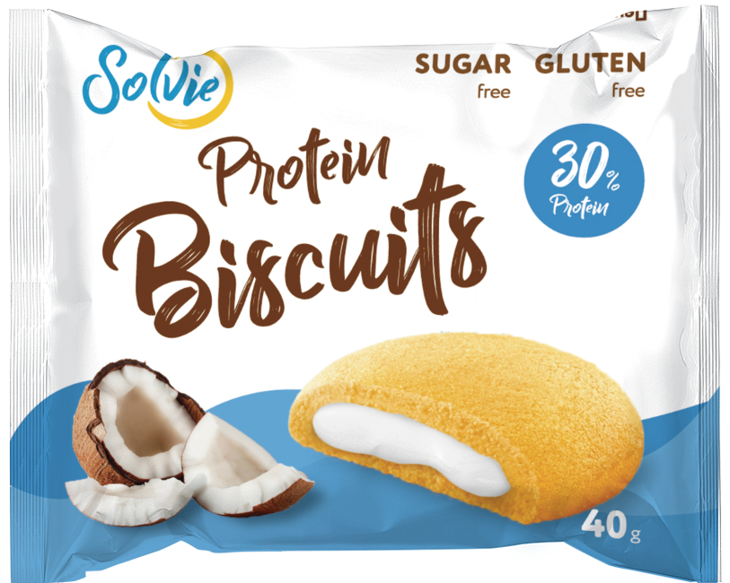Печенье Protein Biscuits, 40г